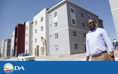 Delivery of first units in new social housing project expected in April